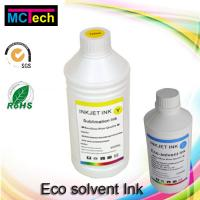 Wholesale 1000ml best selling premium dx5 eco solvent ink for wit color printer from china suppliers