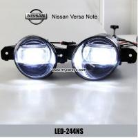Wholesale Nissan Versa Note car fog lamp assembly LED daytime running lights drl from china suppliers