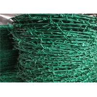 High Tensile PVC Coated Concertina Barbed Wire Use For Security Fencing