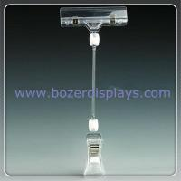 Wholesale Double End Advertising Poster Pop Display Clip Holder Clear from china suppliers