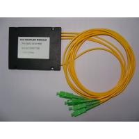 Wholesale PC, UPC, APC Polishing 1-3 FBT Fiber Optic Splitter Available with FC, SC, ST, LC and MU Adapters from china suppliers