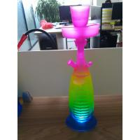 Wholesale Glass hookah pipe shisha pipe High-quality hand blown water pipes with LED from china suppliers