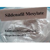 Wholesale 99% Purity  White Or White Crystalline Powder  CAS:131543-23-2  Sildenafil Mesylate  for Male Sex Enhancer from china suppliers