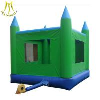 Wholesale Hansel China PVC inflatable bouncer with UL certification inflatable juming castle for kids suppliers from china suppliers