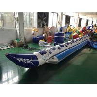 Wholesale 2 ~ 10 People Air Welded Inflatable Water Toys Banana Boat Tube Flame Resistance from china suppliers