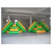 Wholesale Heat - Welding Seams Inflatable Floating Slide 3*2.2*1.8m For Water Park / Lake from china suppliers