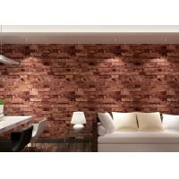 Wholesale Removable 3D Brick Effect Wallpaper Living Room Wall Covering 0.53*10M from china suppliers