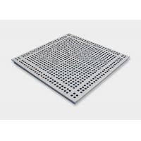 Wholesale 25% Air Rate Aluminum Perforated Raised Floor Tiles with Adjustable Pedestal from china suppliers