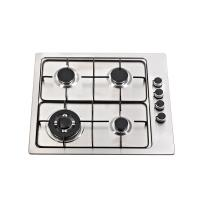 Wholesale Built In Stainless Steel Gas Hob 4 Burner With High Level Enamel Pan Support from china suppliers