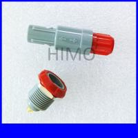 Wholesale verified supplier wholesale red color double key 10 pin lemo self-latching plastic connector M14 solder type from china suppliers