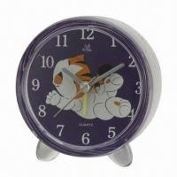 Wholesale Desk Clock, Without Voice, All Kinds of Alarm Clocks Available with Sweep Snooze Function  from china suppliers