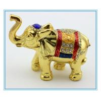 Wholesale Thailand Mascot Elephant Jewelry box for GIfts from china suppliers