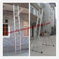 Wholesale manufacture Super light folding ladder,best quality Aluminium ladder from china suppliers