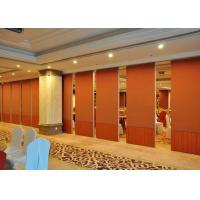 Buy cheap Folding Sound Proof Partition Wall / Movable Divider Walls Hotel Decorated from wholesalers