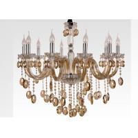 Wholesale Cognac Glass Modern Chandelier Lighting from china suppliers
