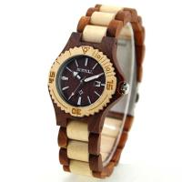 Wholesale Slim Style Customized Design Bewell Wood Watch OEM For Lady Gift from china suppliers
