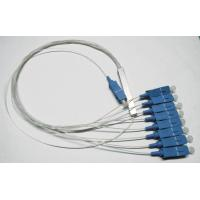 Wholesale 1×8 PLC Fiber Optic Splitter, ABS Package, 0.9mm Cable for FTTX networks / PON Networks from china suppliers