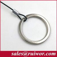 Wholesale RUIWOR RW0014 Customizable Demountable Key Ring Cable End work with Anti Theft Pull Box / Retractable Security Tether from china suppliers