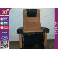 Wholesale Cold Molded PU Sponge Movie Theaters Chairs PP Shell For 3 D Cinemas from china suppliers