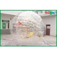 Wholesale 0.7mm TPU Giant Bubble Inflatable Zorb Ball / Inflatable Sports Games from china suppliers
