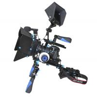 Wholesale International Standard 15mm Rods Dslr Shoulder Rig For Camera Black And Blue from china suppliers