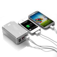 Wholesale Large Capacity 24000MAH USB Power Bank 4- Port for Ipad / Laptop / Iphone from china suppliers