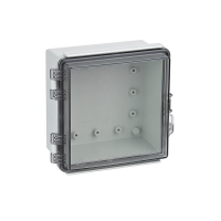 Wholesale Universal IP67 Hinged Electrical Enclosures Plastic Watertight Junction Boxes from china suppliers