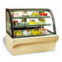 Wholesale Commercial Refrigerated Display Unit , Food Display Fridge With Defrost System from china suppliers