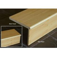 Buy cheap Horizontal Natural Bamboo Stair Tread And Riser from wholesalers