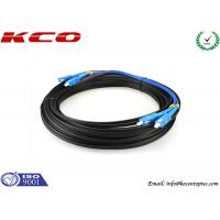 Wholesale SC / UPC To SC / UPC FTTH Single Mode Duplex Fiber Optic Patch Cord from china suppliers