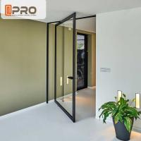Wholesale Thermal Break Aluminum Pivot Doors Color Optional For Residential And Commercial from china suppliers
