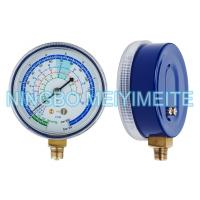 Quality 2.7 Inch General Pressure Gauge Refrigeration Application Freon Pressure Gauge for sale
