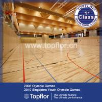 Wholesale Indoor wood design PVC basketball court sports flooring from china suppliers