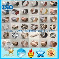 Wholesale SF-1 Oilless Bearing DU Bushing Metric Or Inch Bronze Based Bearing Carbon Steel Stainless Steel Bushing With PTFE from china suppliers