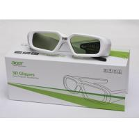 Wholesale Portable / Comfortable 3d Video Glasses 1080p For Acer6510 / 5380 / 342 DLP Projector from china suppliers