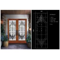 Buy cheap Bright / Round Tempered Beveled Edge Glass Theft Proof For Home School from wholesalers