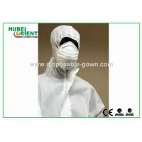 Quality SMS Type 5 6 disposable coverall suit / Anti Virus disposable protective coverall for sale