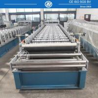 Quality High Speed Step Tile Roll Forming Machine with ISO Quality System , Roll Former Machine for sale