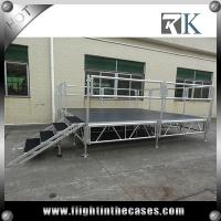 Wholesale 1x2m protable aluminum wedding stage wooden stage on sale outdoor concert stage sale from china suppliers