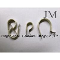 Wholesale Customized Steel R Type Cable Clamp For Water Pipes / Gas Distribution Pipe from china suppliers