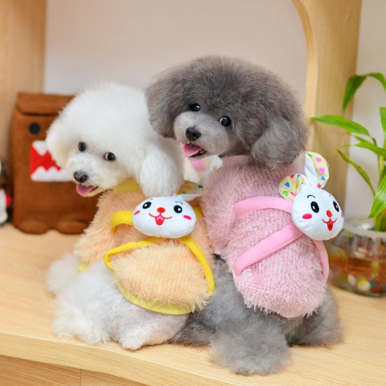 Wholesale Shih Tzu Pink Knitted XXL, XL, S, M Personalized Dog Clothes from china suppliers