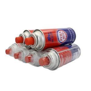 China China butane gas cartridge refill 400ml-227g on sale