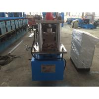 Wholesale Z Purlin Cold Roll Forming Machine 14 Stations with Gcr12 Cutter from china suppliers