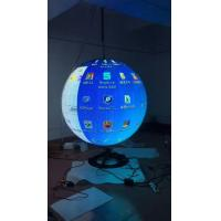 Quality Advertisement P5 P6 Smd Globe Led Display Curved Ball Customized Diameter for sale