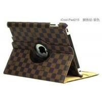 Wholesale Durable And Personalized LV Lattice Texture Leather For Ipad 2 / 3 Cases And Covers from china suppliers