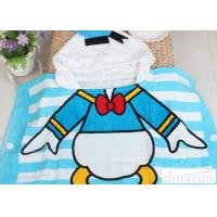 Wholesale Boys / Girls Hooded Poncho Towels Donald Duck Mickey Mouse Shape Comfortable from china suppliers