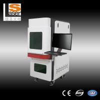 Wholesale Industrial Fiber Laser Marking Equipment / Laser Marker Machine for Plastic Animal Ear Tag from china suppliers