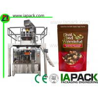 Wholesale Stand Up Pouch Filling Sealing Machines Premade Zipper Bag Packing Equipment Manufacturer from china suppliers