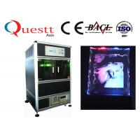Wholesale 532 Nm 3D Laser Glass Engraving Machine 300x400x130 Mm For Crystal Glass from china suppliers