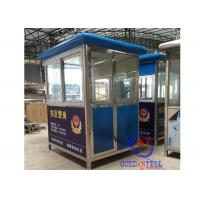 Wholesale Steel Structure Prefabricated Sentry Box , security guard room Movble from china suppliers